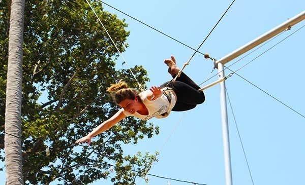 koh tao flying trapeze