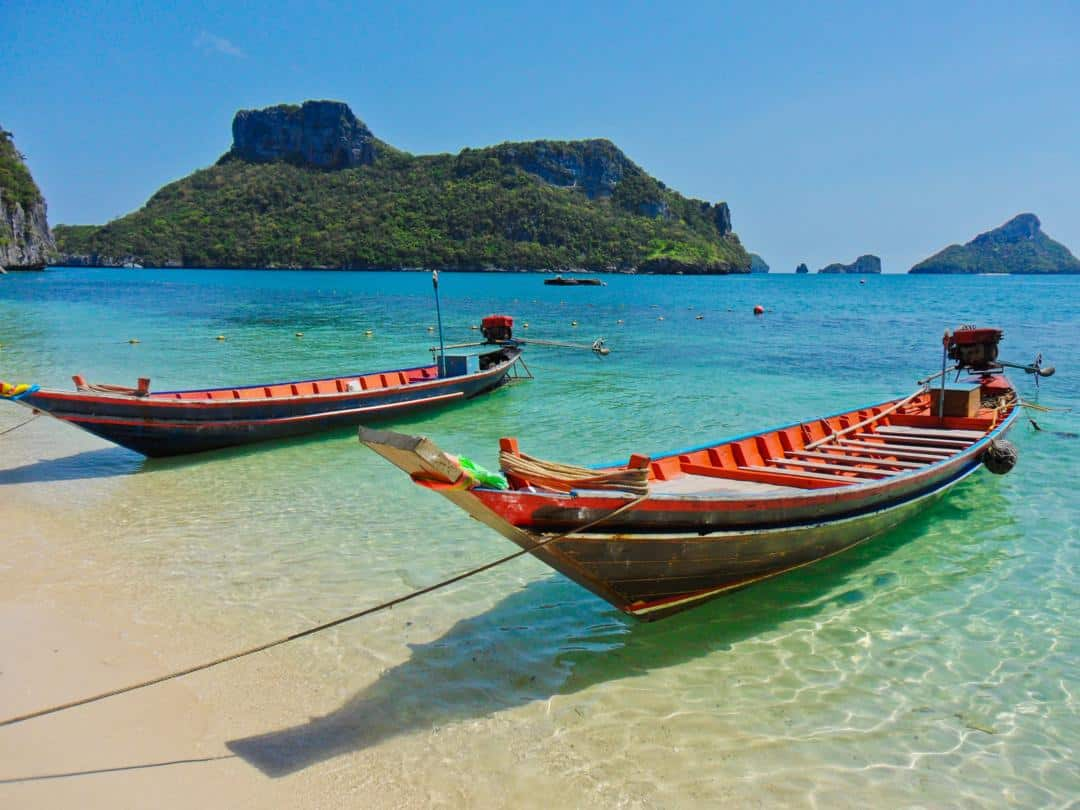 long tail boat rentals on koh tao