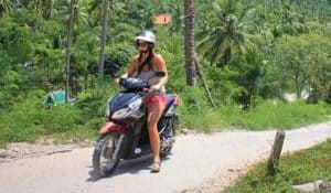 koh tao scooter and motorbike rentals