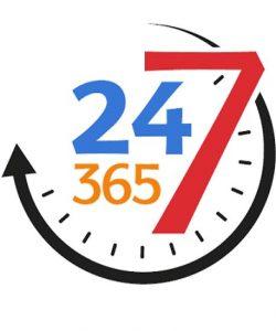 24-7-365 concierge service